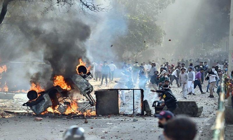 High alert in Mumbai after of Delhi violence